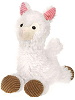 Llama Scruffy Stuffed Animal by Fiesta