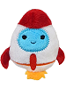 Rocket Uncommon Galactic Mystery Cutie Beans Plush
