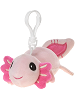 Axolotl Snugglies Plush Backpack Clip by Fiesta