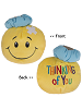 Thinking of You Smiley Face Tossimals Plush by Ganz