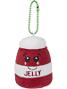 Berry Jelly Scrumchums Plush Food Keychain by Ganz