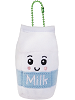 Bessie Milk Common Boxed Scrumchums Plush Food Keychain