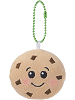 Crumbs Chocolate Chip Cookie Scrumchums Plush Food Keychain