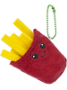 Frenchie French Fries Scrumchums Plush Food Keychain