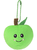Orchard Apple Scrumchums Plush Food Keychain