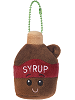 Saps Maple Syrup Scrumchums Plush Food Keychain