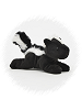 Skunk Handfuls Stuffed Animal by Unipak Designs