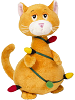 Tangled Cat with Lights Stuffed Animal by Ganz