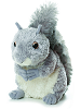 Nutty Squirrel Mini Flopsies Stuffed Animal by Aurora World