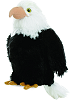 Liberty Eagle Mini Flopsies Stuffed Animal by Aurora World