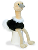 Ozzi Ostrich Mini Flopsies Stuffed Animal by Aurora World