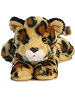 Amazon Jaguar Mini Flopsies Stuffed Animal by Aurora World (Front View)