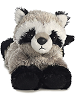 Rascal Raccoon Mini Flopsies Stuffed Animal by Aurora World (Front View)