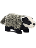Badger Mini Flopsies Stuffed Animal by Aurora World