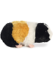 Guinea Pig Mini Flopsies Stuffed Animal by Aurora World (Side View)