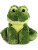 Frolick Frog Mini Flopsies Stuffed Animal by Aurora World (Sitting)