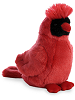 Cardinal Mini Flopsies Stuffed Animal by Aurora World