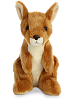 Kangaroo Mini Flopsies Stuffed Animal by Aurora World (Front)
