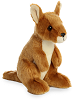 Kangaroo Mini Flopsies Stuffed Animal by Aurora World
