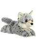 Winter Wolf Mini Flopsies Stuffed Animal by Aurora World