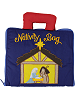 My Nativity Bag Quiet Book with Finger Puppets (Closed)