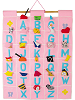 ABC Wall Hanging (Pink) by Pockets of Learning