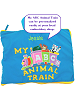 My ABC Animal Train - Personalize at your local embroidery shop!