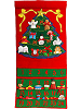 Christmas Tree Cloth Advent Calendar by Pockets of Learning