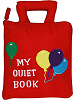 My Quiet Book Cloth Activity Book (Closed)