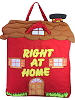 Right at Home Cloth Activity Book (Closed)