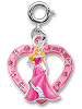 CHARM IT! Aurora (Sleeping Beauty) Heart Charm
