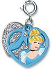 CHARM IT! Cinderella Swivel Heart Charm by High IntenCity (Split View)