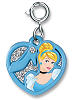 CHARM IT! Cinderella Swivel Heart Charm by High IntenCity