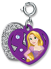 CHARM IT! Rapunzel Swivel Heart Charm by High IntenCity (Split View)