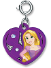 CHARM IT! Rapunzel Swivel Heart Charm by High IntenCity