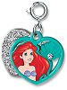 CHARM IT! Ariel Swivel Heart Charm by High IntenCity (Split View)