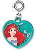 CHARM IT! Ariel Swivel Heart Charm by High IntenCity