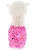 Sparkle Llama (Pink) Stuffed Animal by DolluBu (Back)