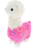 Sparkle Llama (Pink) Stuffed Animal by DolluBu