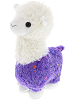Sparkle Llama (Purple) Stuffed Animal by DolluBu