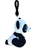 Panda Big Eyes Plush Backpack Clip Stuffed Animal (Side View)