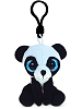 Panda Big Eyes Plush Backpack Clip Stuffed Animal by Puzzled