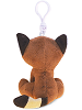 Red Panda Big Eyes Plush Backpack Clip Stuffed Animal (Back)