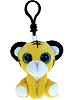 Tiger Big Eyes Plush Backpack Clip Stuffed Animal by Puzzled
