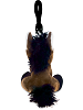 Horse Big Eyes Plush Backpack Clip Stuffed Animal (Back)