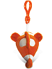 Clown Fish Big Eyes Plush Backpack Clip Stuffed Animal (Back)