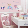 Fairy Princess RoomMates Wall Decals Room View