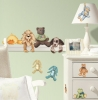 Cuddle Buddies RoomMates Wall Decals Room View