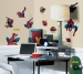 Amazing Spiderman RoomMates Wall Decals Room View