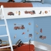 Fire Brigade RoomMates Wall Decals Room View